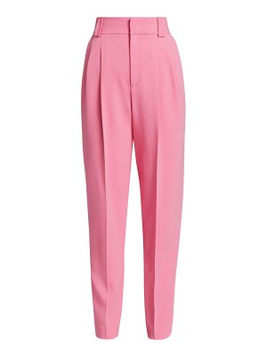 Red Valentino frisottino high-rise trousers