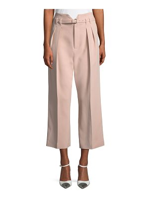 Red Valentino Frisottino Stretch-Crepe Cropped Pants