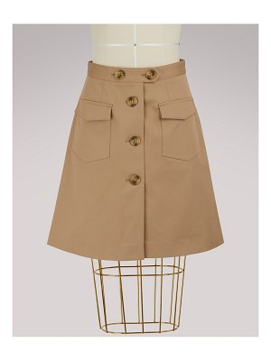 Red Valentino Midi skirt with buttons