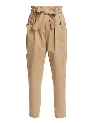 Red Valentino paperbag twill pants