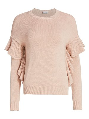 Red Valentino ruffle sweater