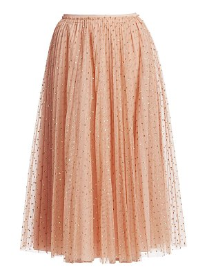 Red Valentino sparkle dot skirt