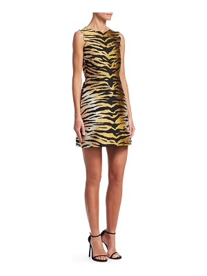 Red Valentino tiger-print dress