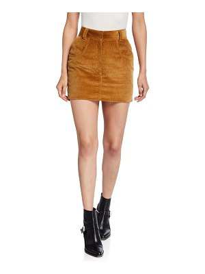 RE/DONE 90s Ultra High-Rise Western Pocket Skirt