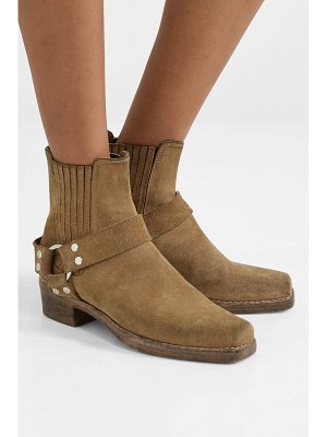 RE/DONE calvary suede ankle boots