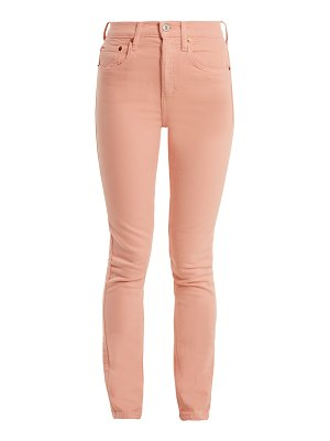 RE/DONE ORIGINALS high rise skinny jeans