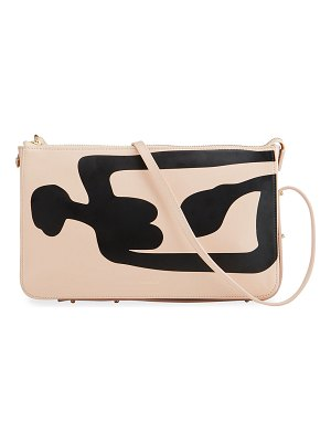 REE PROJECTS DO Abstract-Print Shoulder Clutch Bag