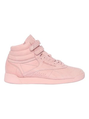 REEBOK CLASSICS Freestyle nubuck high top sneakers