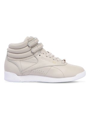 REEBOK CLASSICS Gigi hadid freestyle leather hi sneakers