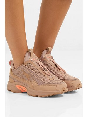 Reebok gigi hadid dmx 2200 mesh and leather sneakers