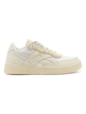Reebok x Victoria Beckham dual court ii grained-leather trainers