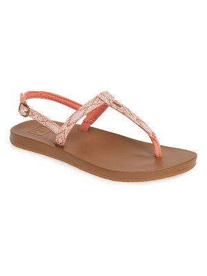 Reef cushion bounce slim t sandal