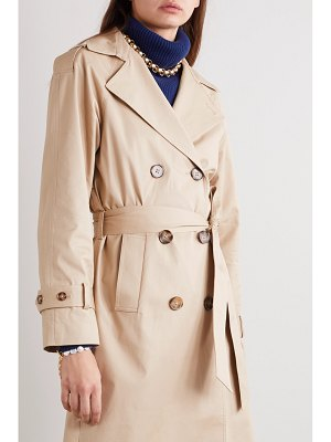 REFORMATION holland cotton-blend twill trench coat
