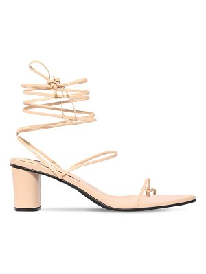 Reike Nen 60mm leather lace-up thong sandals