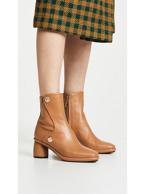 Reike Nen curved middle ankle booties