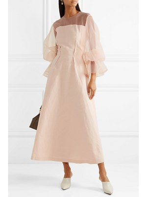 Rejina Pyo lois linen-blend and organza maxi dress