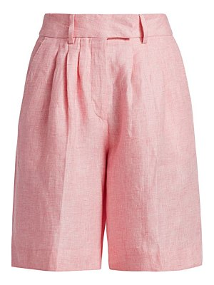 REMAIN Birger Christensen linen bermuda shorts