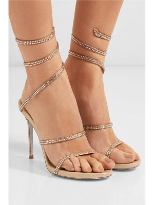 Rene Caovilla cleo crystal-embellished leather sandals