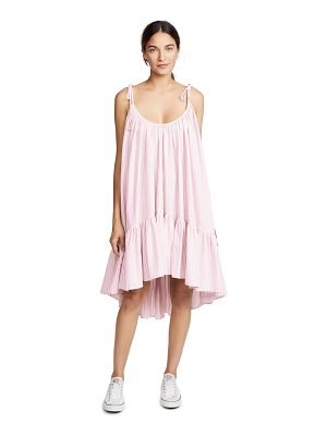 Riller & Fount diana tiered midi dress