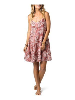 Rip Curl coastal tide floral sundress