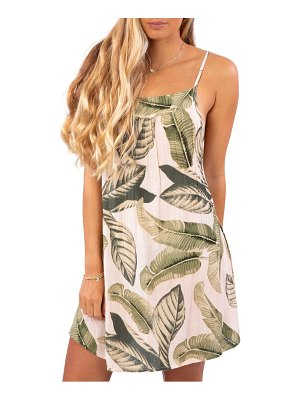 Rip Curl coco beach cover-up dress