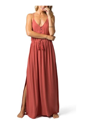 Rip Curl nelly cinched maxi dress