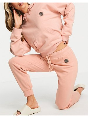 Rip Curl rip curl surfers original tracksuit bottom in clay