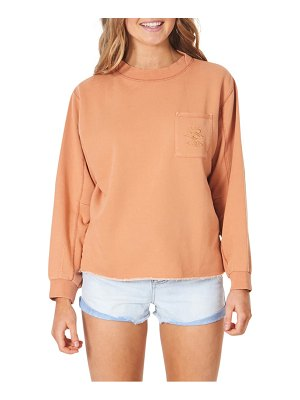 Rip Curl search french terry pocket sweatshirt
