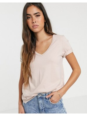 River Island loose fitting t-shirt in beige