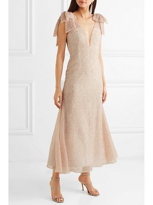 Rodarte embellished tulle midi dress