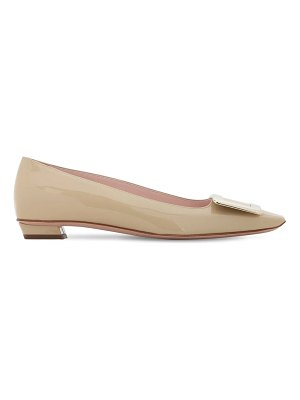 Roger Vivier 25mm belle vivier patent leather pumps