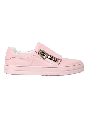 Roger Vivier 25mm sneaky viv zip-up leather sneakers