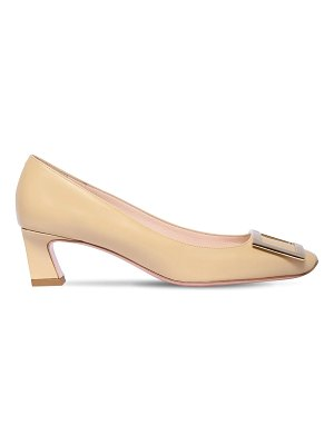 Roger Vivier 45mm trompette leather pumps