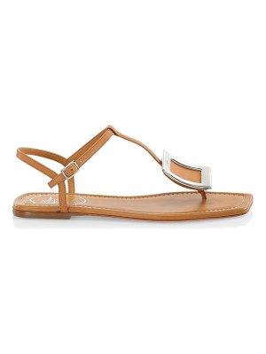 Roger Vivier bikiviv leather thong sandals