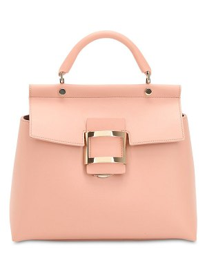 Roger Vivier Viv' leather top handle bag
