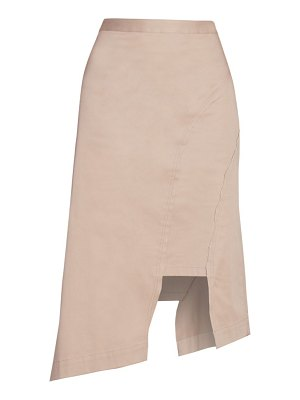 Rokh crushed paneled skirt