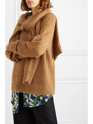 Rokh tie-front knitted sweater