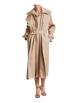 Rokh triple trench coat