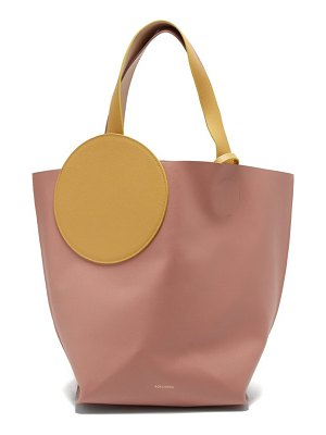 Roksanda eider leather tote bag
