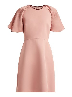 Roksanda nia crepe mini dress