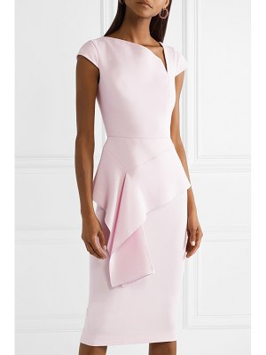 Roland Mouret dandridge wool-crepe dress