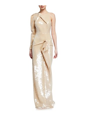 Roland Mouret Delamere Stretch Sequined Gown