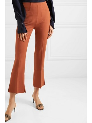 Roland Mouret goswell crepe flared pants