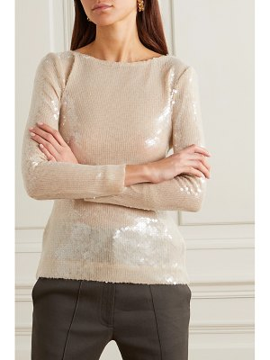 Roland Mouret mosta cutout sequined tulle top