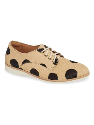 Rollie derby genuine calf hair oxford