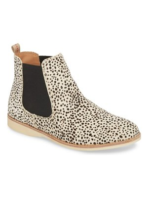 Rollie genuine calf hair chelsea bootie