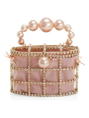 Rosantica holli embellished top handle clutch
