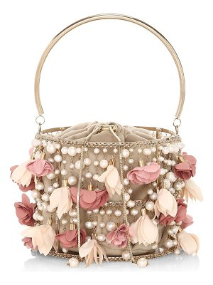 Rosantica holli fresia embellished top handle bag