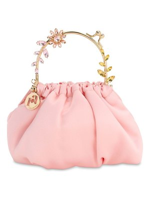 Rosantica Small dalma satin top handle bag