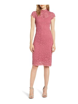 ROSEMUNDE delicia lace body-con dress